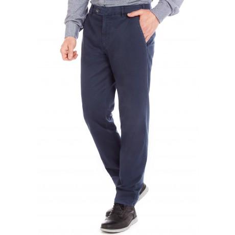 Хлопковые мужские брюки Meyer, модель Bonn 6-496/18 синие