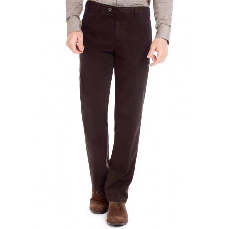 Хлопковые мужские брюки Meyer, модель Monza 6-455/38, цвет коричневый