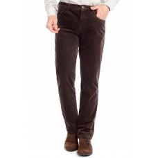 Брюки мужские W.Wegener Douglas 6-569/36 коричневые вельветовые, на термоподкладке с джинсовым карманом