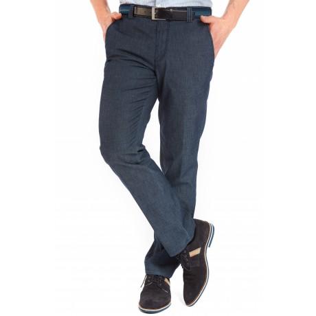 Брюки мужские Meyer Bonn 5-680/19 из легкой летней джинсовой ткани