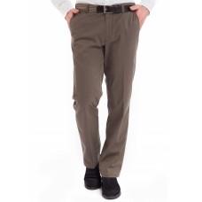 Брюки мужские Meyer Monza 5-426/35 коричневые, комфортные слаксы