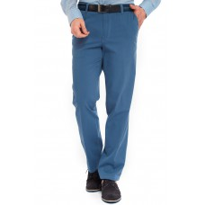 Брюки мужские Meyer Monza 5-460/17 хлопковые, широкие, ярко-синие слаксы