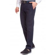 Брюки мужские W.Wegener Eton 5-687/19 синие из тонкой джинсовой ткани