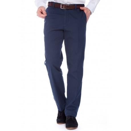 Хлопковые мужские брюки Meyer, модель Monza 5-426/19, цвет синий
