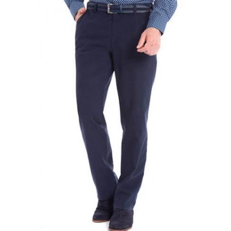 Хлопковые мужские брюки Meyer, модель Monza 6-455/18, цвет синий