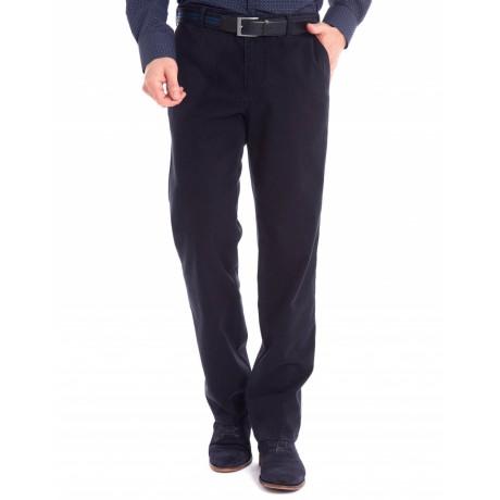 Хлопковые мужские брюки Meyer, модель Monza 6-455/19, цвет синий