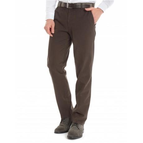 Хлопковые мужские брюки Meyer, модель Monza 6-498/36, цвет коричневый