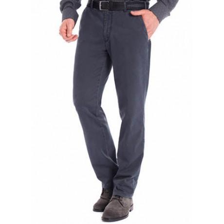 Хлопковые мужские брюки Meyer, модель Bonn 6-447/07 серые