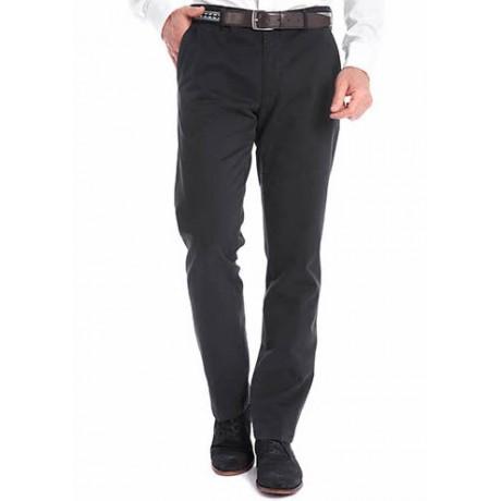 Хлопковые мужские брюки Meyer, модель Bonn 6-424/09 черные