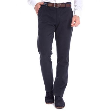 Хлопковые мужские брюки Meyer, модель Bonn 6-424/19 синие