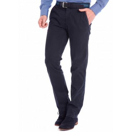 Хлопковые мужские брюки Meyer, модель Bonn 6-447/18 синие
