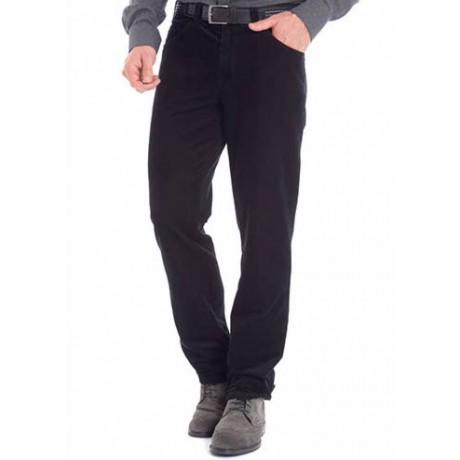 Брюки мужские Meyer Dublin 6-473/19,  синего цвета, с джинсовыми карманами