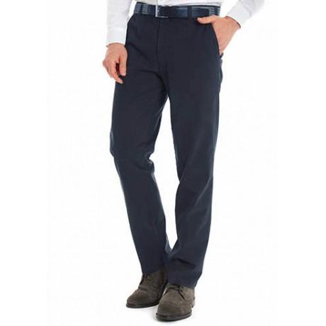 Хлопковые мужские брюки Meyer, модель Monza 6-498/18, цвет синий