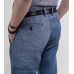 Брюки мужские Royal Spirit, модель Джинс, льняные голубые