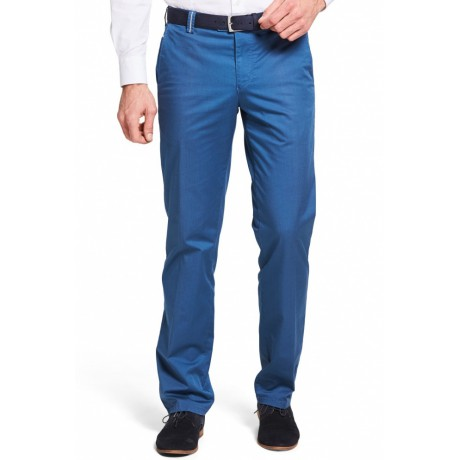 Брюки мужские Meyer Bonn 5-420/17, летние голубые, очень легкие