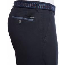 Брюки мужские W.Wegener Eton 5-509/19 структурные, синие