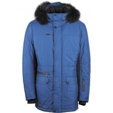 Куртка зимняя мужская с климат-контролем AutoJack 0491 голубая