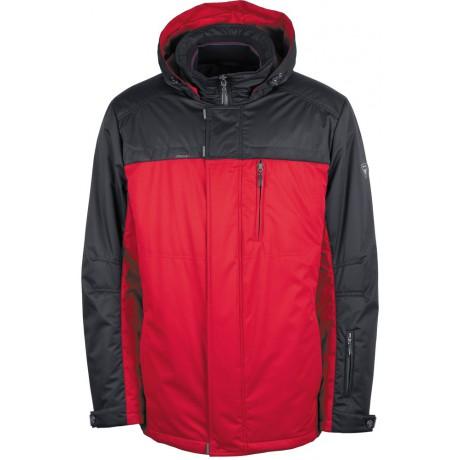 Куртка демисезонная мужская с климат-контролем AutoJack 0381 красная