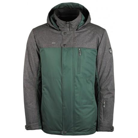 Куртка демисезонная мужская с климат-контролем AutoJack 0381 оливковая