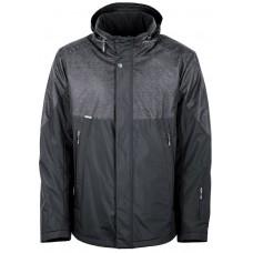 Куртка демисезонная мужская с климат-контролем AutoJack 0538 черная