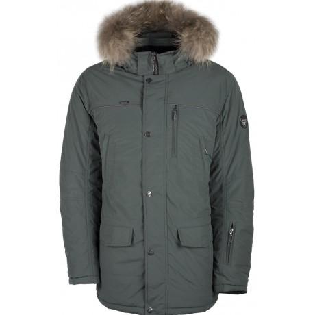 Куртка зимняя мужская с климат контролем AutoJack 0399 оливковый