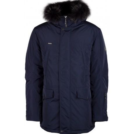 Куртка зимняя мужская с климат контролем AutoJack 0443 синий