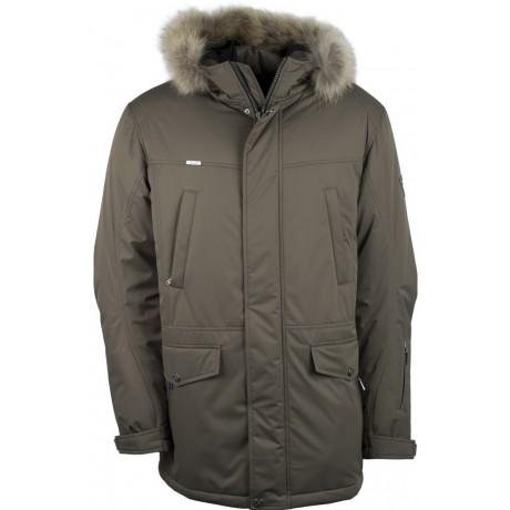 Куртка зимняя мужская с климат контролем AutoJack 0443 оливковый