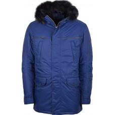 Куртка зимняя мужская с климат контролем AutoJack 0443 васильковый
