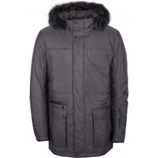 Куртка зимняя мужская с климат-контролем AutoJack 0491 серый