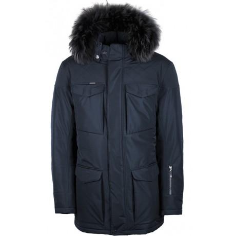 Куртка зимняя мужская с климат-контролем AutoJack 0572 синий