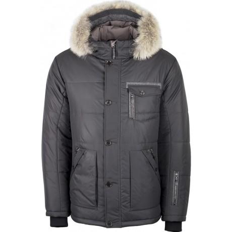 Куртка зимняя мужская с климат-контролем AutoJack 0573 серый