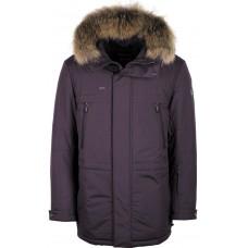 Куртка зимняя мужская с климат-контролем AutoJack 0547 винный