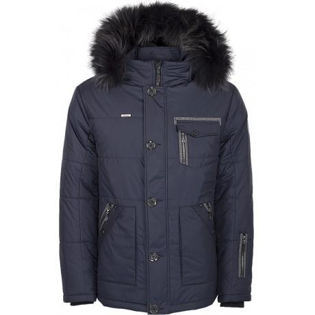 Куртка зимняя мужская с климат-контролем AutoJack 0573 синий