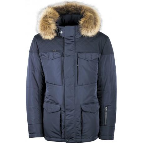 Куртка зимняя мужская с климат-контролем AutoJack 0672 синяя