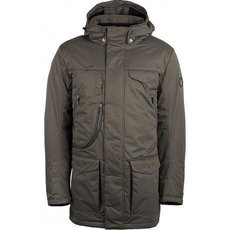Куртка демисезонная мужская с климат-контролем AutoJack 0471 оливковая