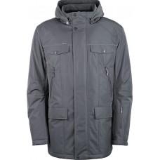 Куртка демисезонная мужская с климат-контролем AutoJack 0446 серая