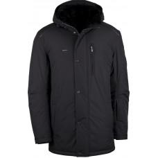 Куртка зимняя мужская с климат-контролем AutoJack 0444 черная без меха