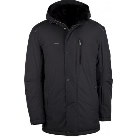 Куртка зимняя мужская с климат-контролем AutoJack 0444 черный