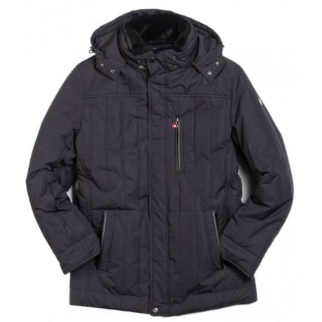 Куртка зимняя мужская Royal Spirit, модель Бастилия черная
