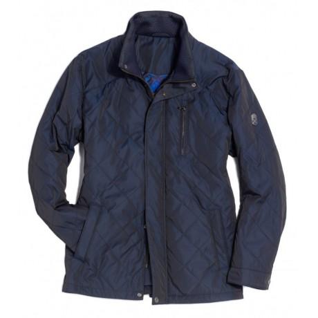 Куртка демисезонная мужская Royal Spirit, модель Браузер стеганная синяя