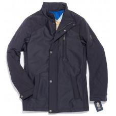 Куртка демисезонная мужская Royal Spirit, модель Голливуд стеганная синяя