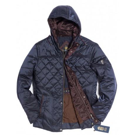 Куртка демисезонная мужская Royal Spirit, модель Ксенон стеганная синяя