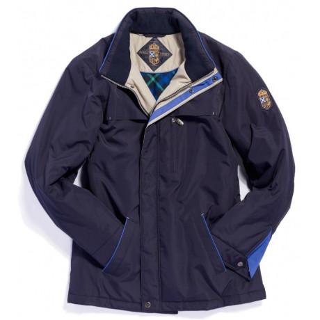 Куртка демисезонная мужская Royal Spirit, модель Шафран синяя