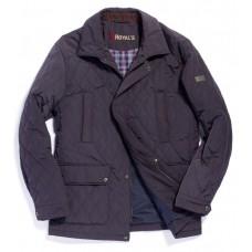 Куртка демисезонная мужская Royal Spirit, модель Сицилия стеганная синяя