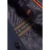 Пальто мужское Royal Spirit, модель Гюго синее