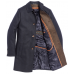 Пальто мужское Royal Spirit, модель Гете синее