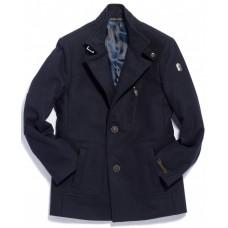 Пальто мужское Royal Spirit, модель Базальт синее