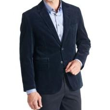 Пиджак мужской W.Wegener модель Nick 6-490/19, вельветовый синий