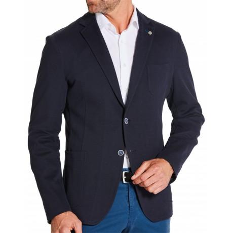 Пиджак мужской W.Wegener из легкого трикотажного хлопка, модель Jack Jersey 5-702/19