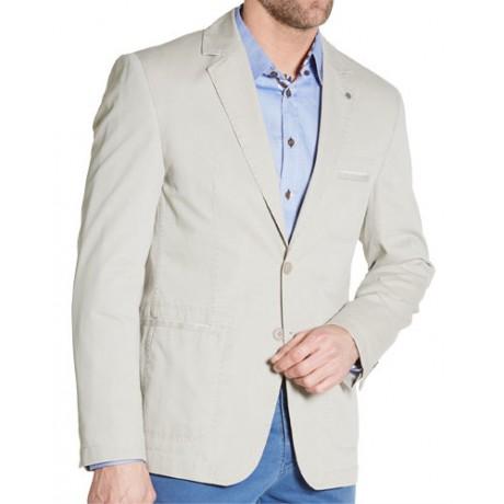 Пиджак хлопковый W.Wegener модель Kenny 2S 5404/41 бежевый